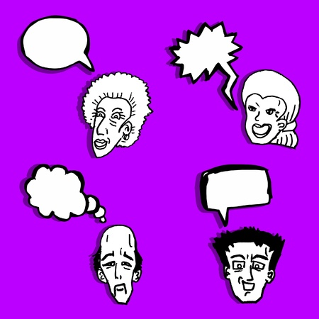 People comic Vector