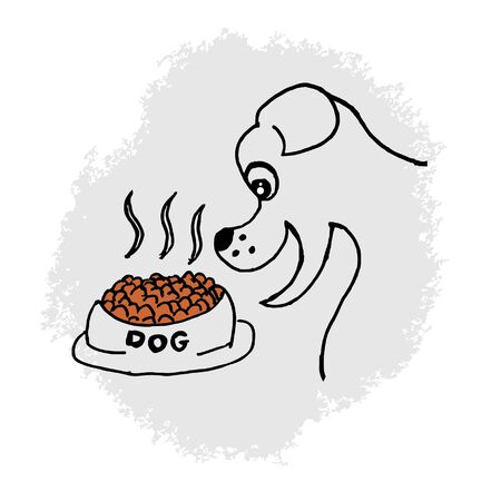 Dog food Stock Vector - 11249099