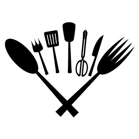 whispering: Kitchen utensil Illustration