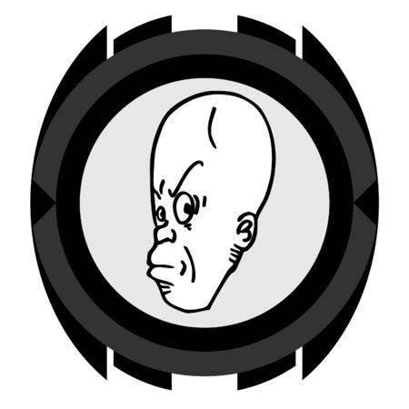 Face icon Stock Vector - 11303991