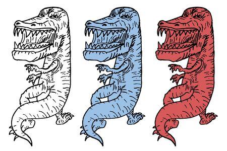 Three monsters Stock Vector - 11304127