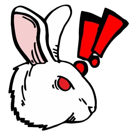 Rabbit fury Stock Vector - 11498581