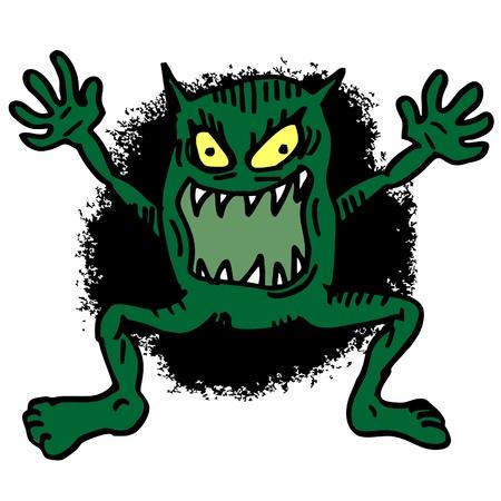 gaping: Terror monster