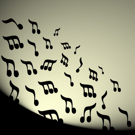 Classical music wallpaper Vector