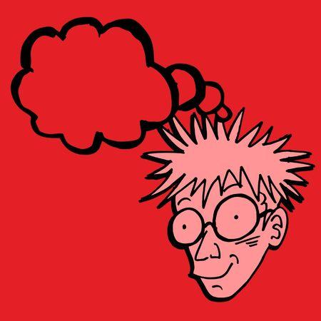 a thinker: Thinker draw