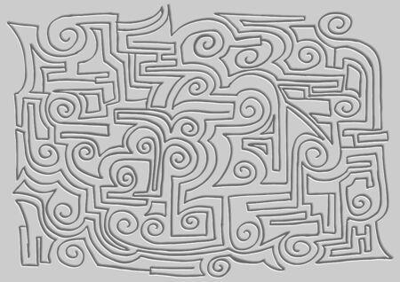 hieroglyph: Design crafted mystic hieroglyph Illustration