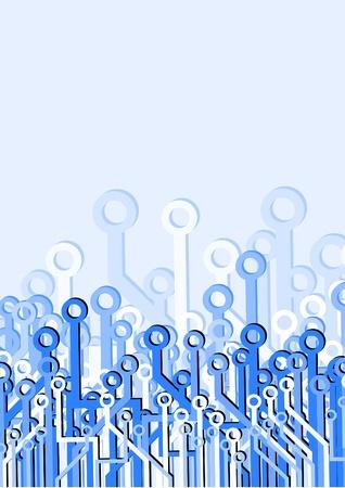 Tech design decoration Illustration