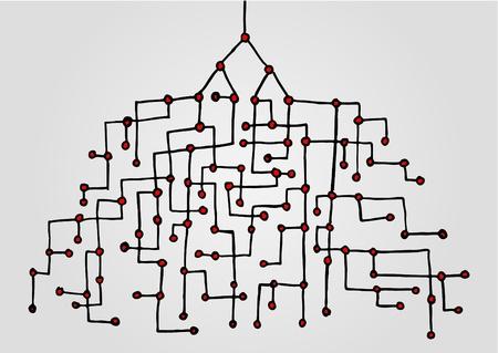 Creative root design Stock Vector - 11498675