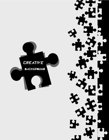Puzzle cover Vector