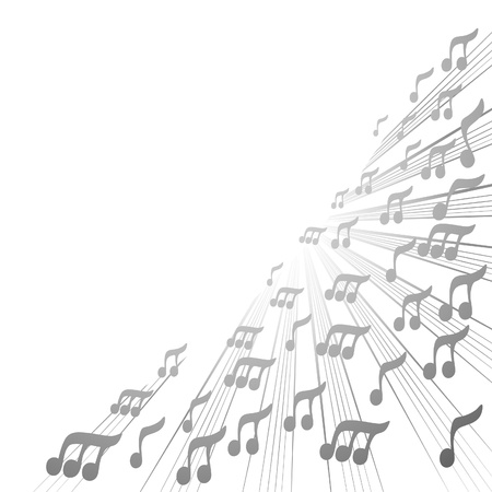 Music wallpaper Stock Vector - 11498670