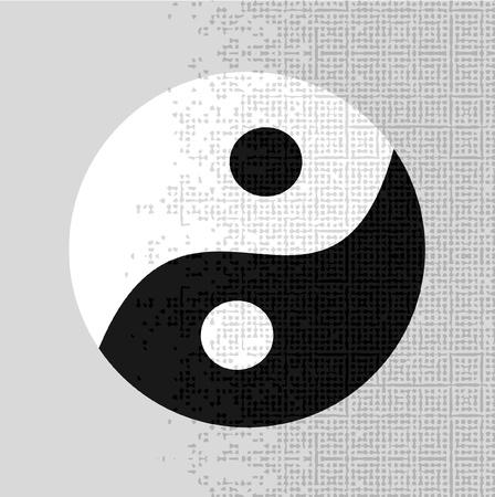 taoism: Taoism icon Illustration