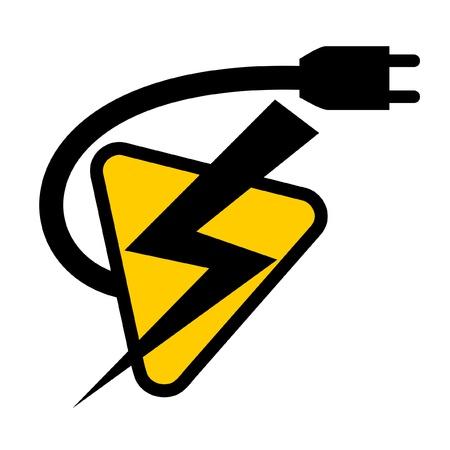 cables electricos: S�mbolo de la bater�a