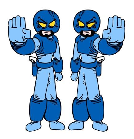 comic duo: Two future guardian