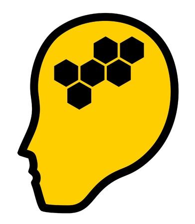 Intelligence human Stock Vector - 11573479