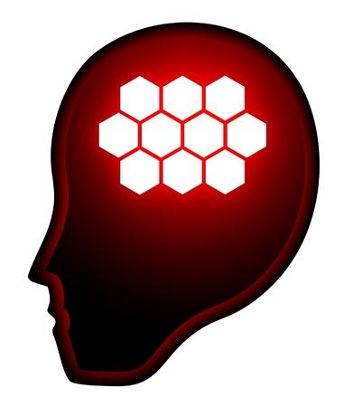 artificial intelligence: Artificial intelligence Illustration