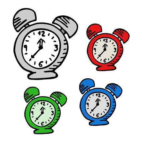 zeitlos: Farbe Uhren