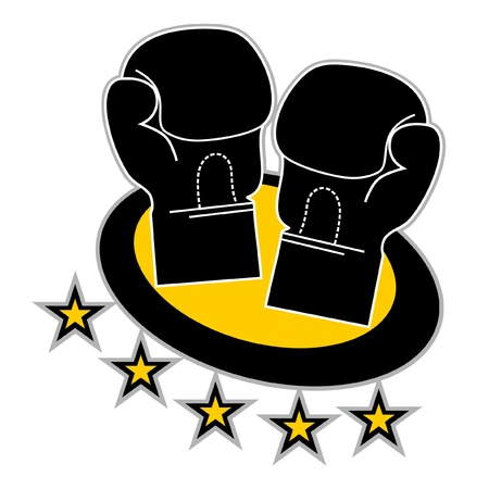 Boxing icon Vectores
