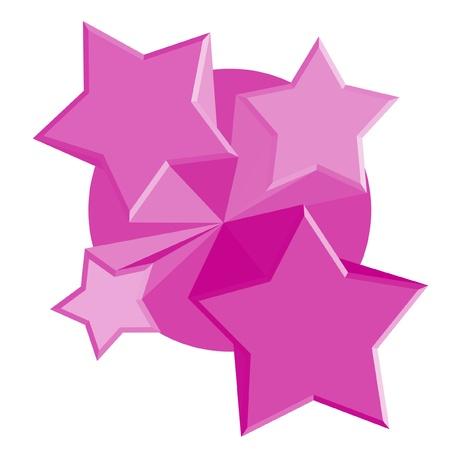 estrellas moradas: P�rpura icono de estrellas
