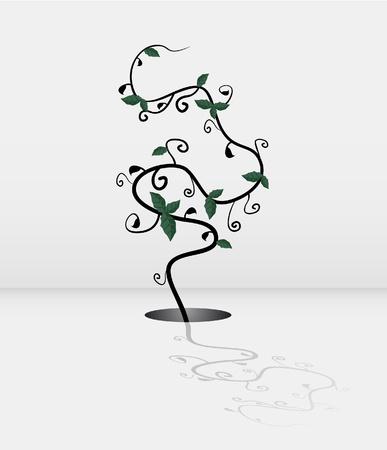 robust: Nature illustration
