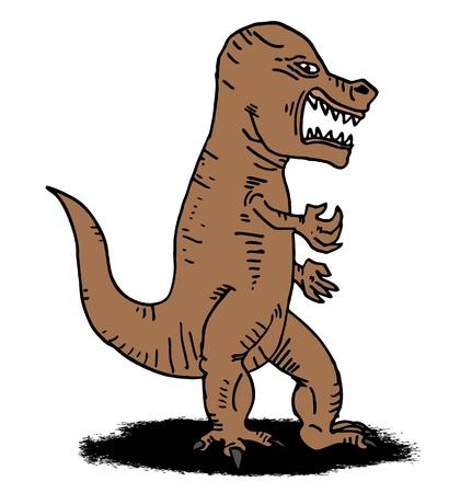 Illustration of big danger animal Stock Vector - 11823037