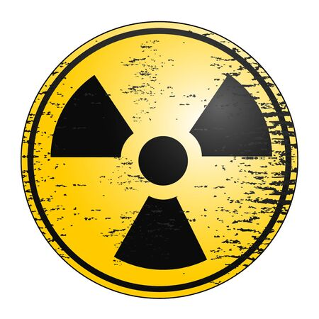 Creative design of radiation icon Stock Vector - 11823038