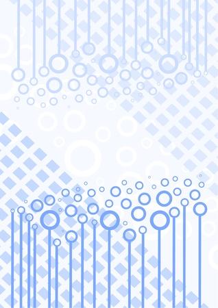 azul: Design of blue fashion wallpaper