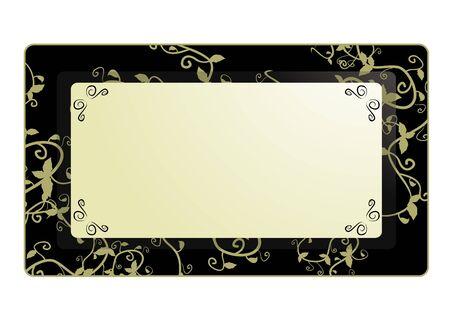 quadrant: Elegant design of frame photo