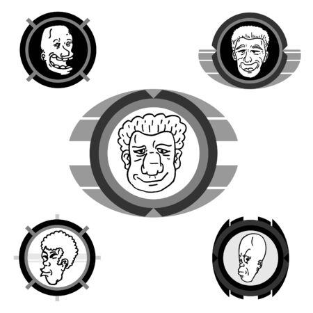 Cartoon art frame Stock Vector - 11956067