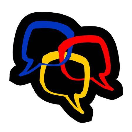 shackle: Comic color symbols