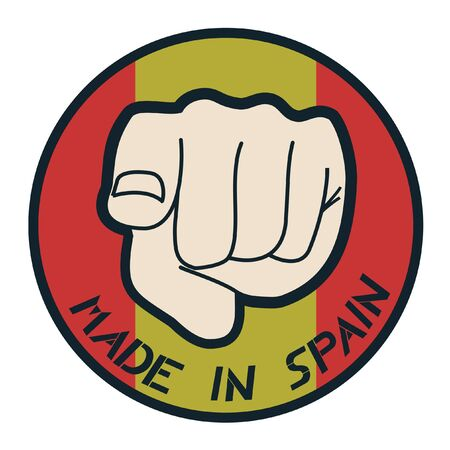 Made in Spain Stock Vector - 11955993