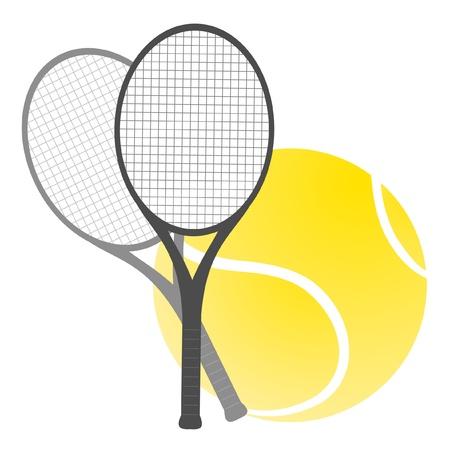 Tennis illustration Vector