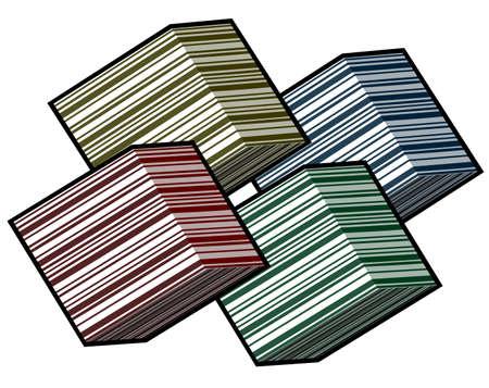 quadrant: Cubes color design