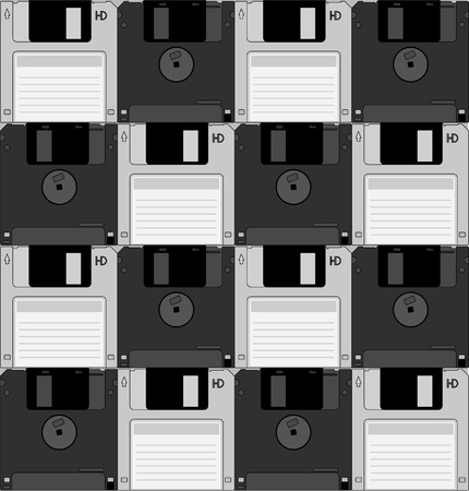 Diskettes wallpaper Vector