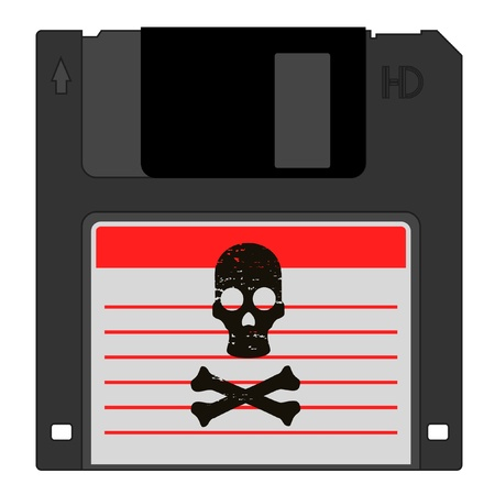 Danger pirate data Stock Vector - 12247889