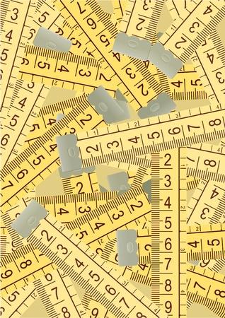 tallness: Meter vintage composition