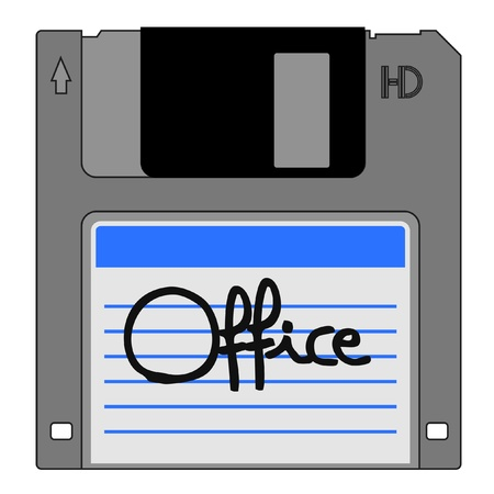 Office icon Stock Vector - 12247974