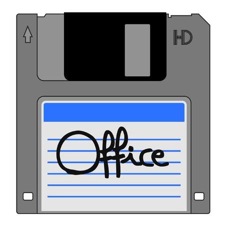 Office icon Stock Vector - 12247974
