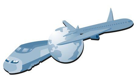 Travel icon Stock Vector - 12248005