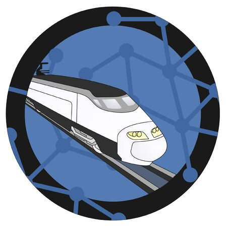 aerodynamic: Train icon