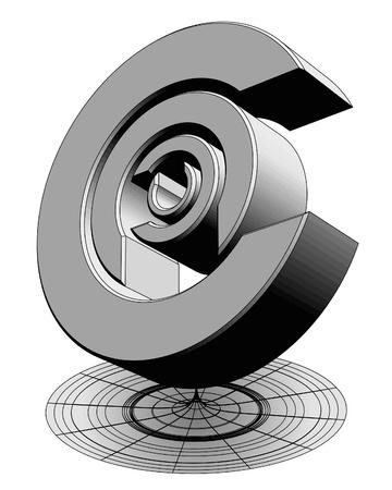 adorn: Resumen emblema Vectores