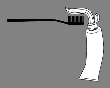 fluoride toothpaste: Dentist vector wallpaper