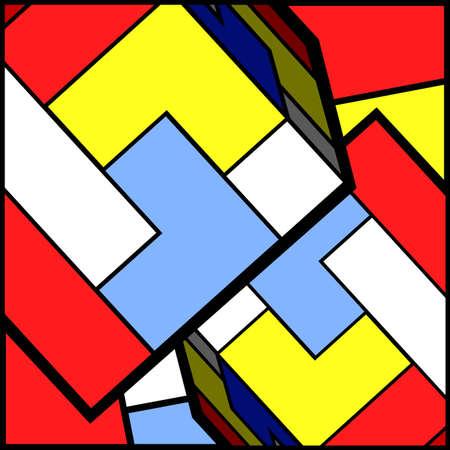quadrant: Color cube wallpaper