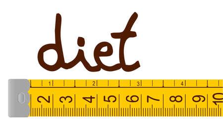 Diet design Stock Vector - 12484296