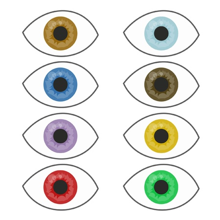Color eyes