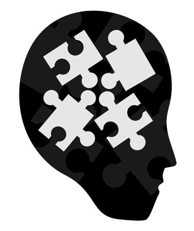 Puzzle human