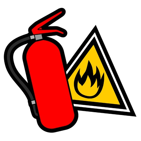 foam safe: Fire symbol