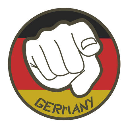 Germany stick Stock Vector - 12484121