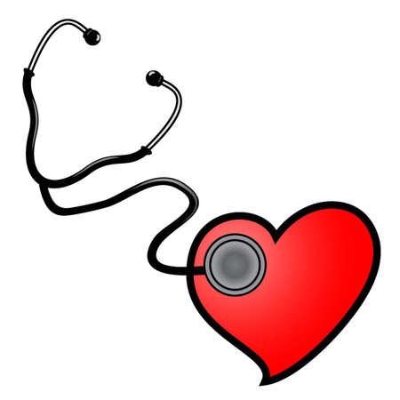 Love heart Stock Vector - 12484183