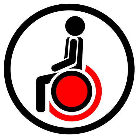 Health chair Vector