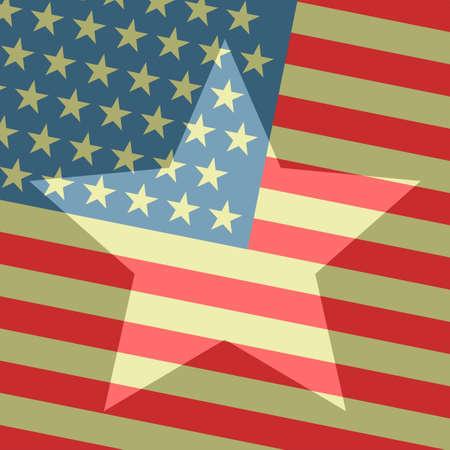 American wallpaper Vector